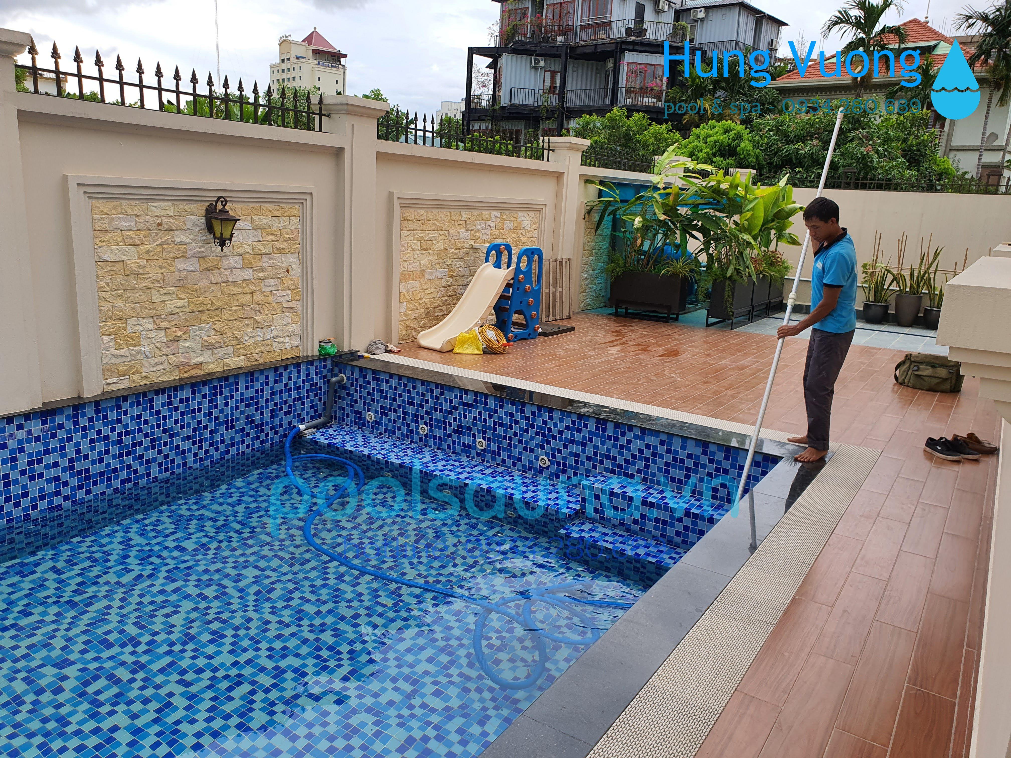 Hệ thống xử lý nước bể bơi: Thiết bị, nguyên lý hoạt động và quy trình lắp đặt