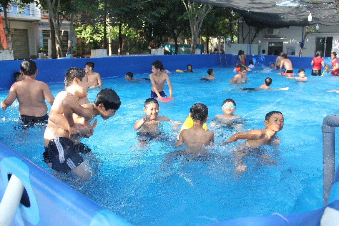 Bể bơi siêu rẻ ở Quảng Ngãi